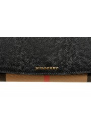 """Burberry Women's """"HENLEY"""" Checkered Canvas Leather Clutch Wallet Shoulder Bag: Picture 3"""