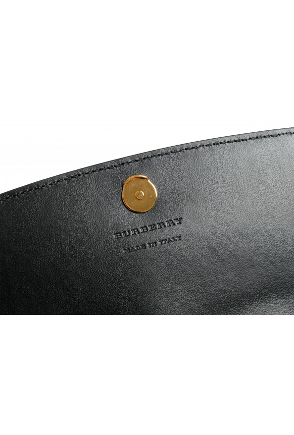 """Burberry Women's """"HENLEY"""" Checkered Canvas Leather Clutch Wallet Shoulder Bag: Picture 7"""