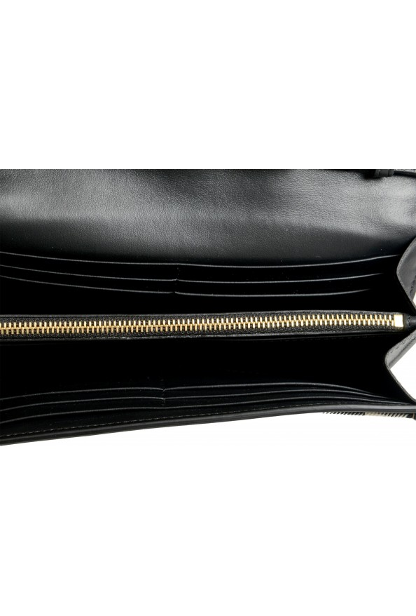 """Burberry Women's """"HENLEY"""" Checkered Canvas Leather Clutch Wallet Shoulder Bag: Picture 8"""