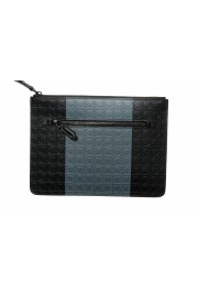 Salvatore Ferragamo Women's Logo Print Textured Leather Clutch Bag: Picture 2