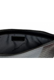 Salvatore Ferragamo Women's Logo Print Textured Leather Clutch Bag: Picture 4