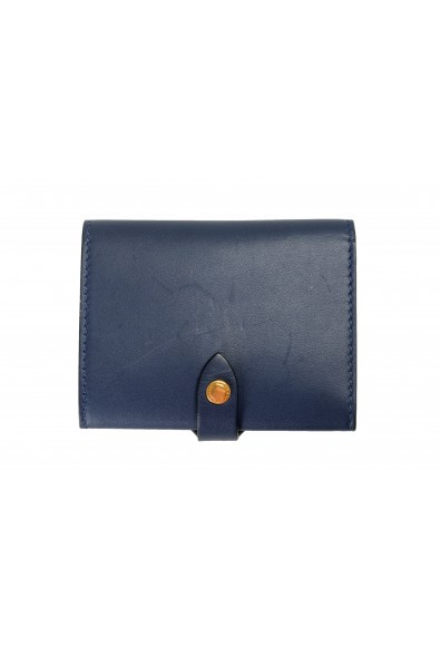 """Burberry Unisex """"HARLOW"""" Blue Leather Bifold Wallet: Picture 2"""