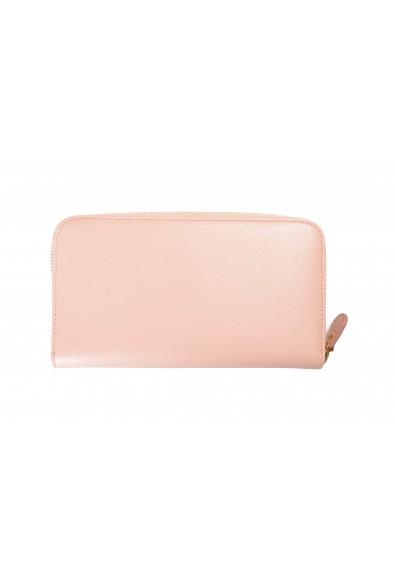 Salvatore Ferragamo Women's Dusty Pink 100% Leather Zip Around Wallet: Picture 2
