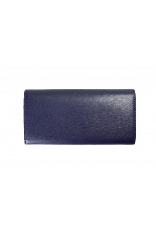 Salvatore Ferragamo Women's Blue 100% Textured Leather Wallet: Picture 2
