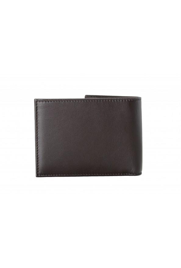 Salvatore Ferragamo Men's Dark Brown Logo Decorated 100% Leather Bifold Wallet: Picture 3