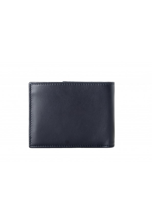 Salvatore Ferragamo Men's Dark Blue Logo Decorated 100% Leather Bifold Wallet: Picture 3