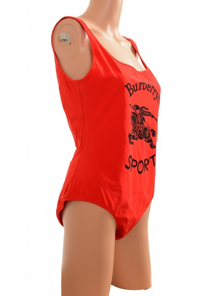 """Burberry Women's """"TOMO_J42"""" Red Logo 1 Piece Swimsuit: Picture 2"""