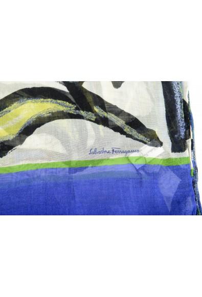 Salvatore Ferragamo Women's Multi-Color Silk Shawl Scarf: Picture 2
