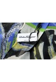 Salvatore Ferragamo Women's Multi-Color Silk Shawl Scarf: Picture 4
