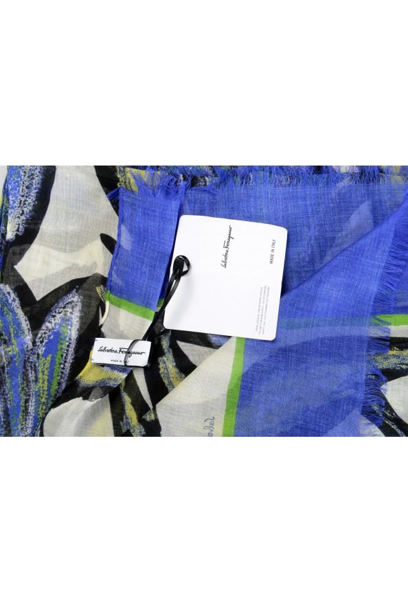 Salvatore Ferragamo Women's Multi-Color Silk Shawl Scarf: Picture 5