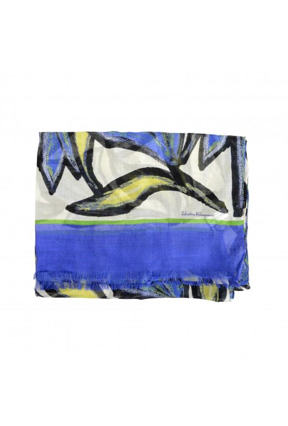 Salvatore Ferragamo Women's Multi-Color Silk Shawl Scarf