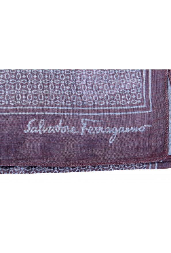 Salvatore Ferragamo Multi-Color Silk Cashmere Shawl Scarf: Picture 2