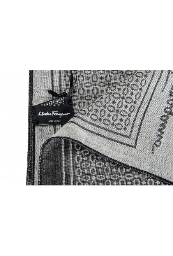 Salvatore Ferragamo Multi-Color Silk Cashmere Shawl Scarf: Picture 3