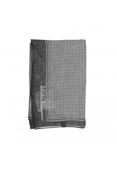 Salvatore Ferragamo Multi-Color Silk Cashmere Shawl Scarf