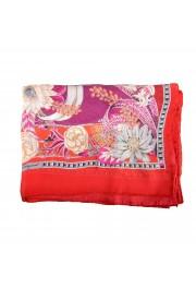 Salvatore Ferragamo Women's Multi-Color 100% Silk Shawl Scarf: Picture 2