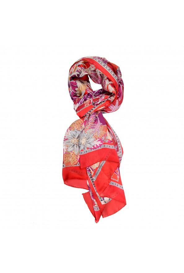 Salvatore Ferragamo Women's Multi-Color 100% Silk Shawl Scarf