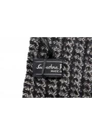 Salvatore Ferragamo Multi-Color Silk Wool Checkered Shawl Scarf: Picture 4