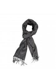 Salvatore Ferragamo Multi-Color Silk Wool Checkered Shawl Scarf: Picture 6