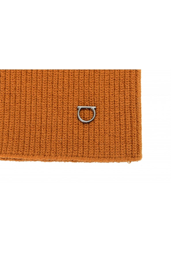 Salvatore Ferragamo Brown Wool Neck Warmer Scarf: Picture 2