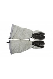 """Moncler """"Guanti"""" 100% Wool Gray Long Winter Gloves: Picture 3"""