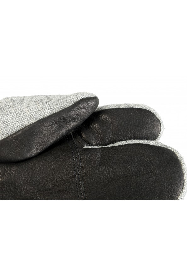 """Moncler """"Guanti"""" 100% Wool Gray Long Winter Gloves: Picture 4"""
