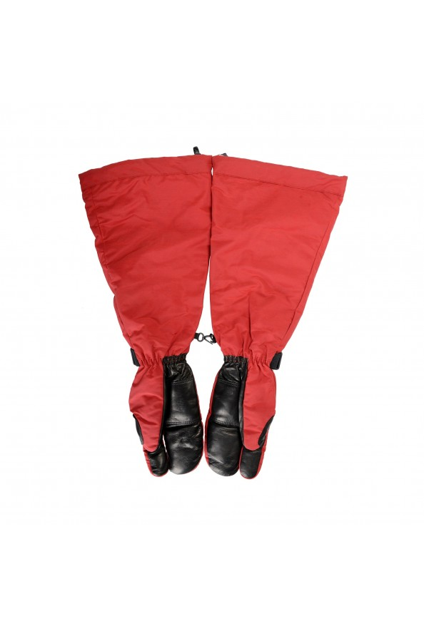"""Moncler """"Guanti"""" Red Long Winter Gloves: Picture 3"""