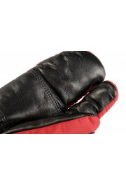 """Moncler """"Guanti"""" Red Long Winter Gloves: Picture 6"""