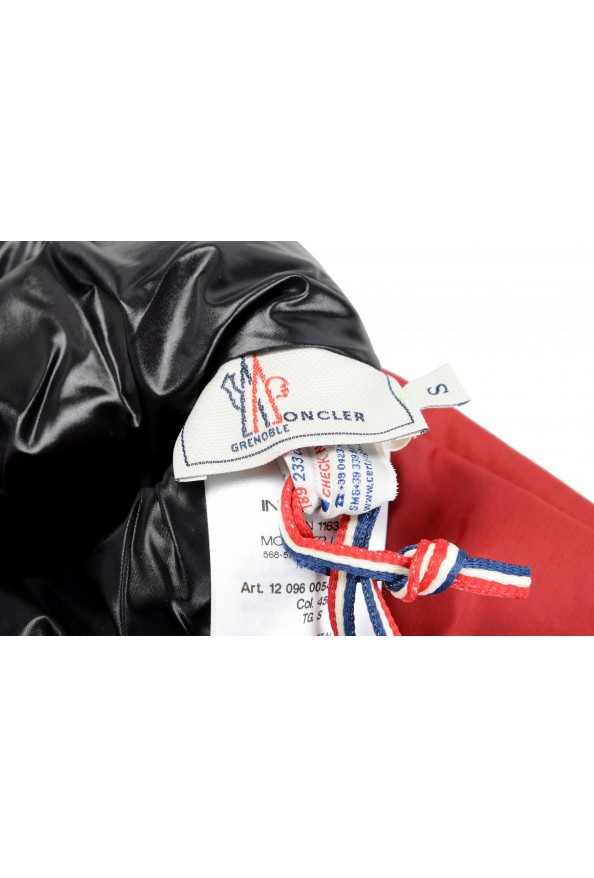 """Moncler """"Guanti"""" Red Long Winter Gloves: Picture 8"""