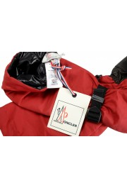 """Moncler """"Guanti"""" Red Long Winter Gloves: Picture 9"""