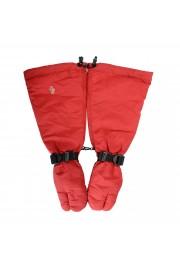 "Moncler ""Guanti"" Red Long Winter Gloves"