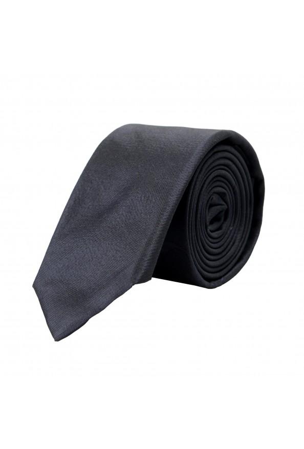 Hugo Boss Men's Black Silk Tie