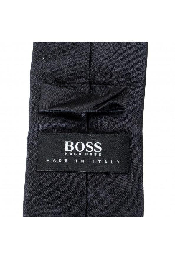 Hugo Boss Men's Black Silk Tie: Picture 4