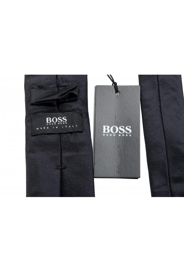 Hugo Boss Men's Black Silk Tie: Picture 6