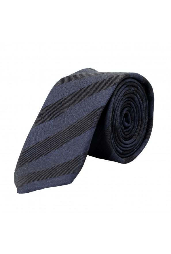 Hugo Boss Men's Multi-Color Striped 100% Silk Tie