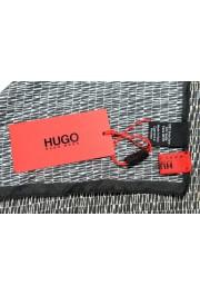 Hugo Boss Men's 100% Silk Graphic Print Pocket Square: Picture 3