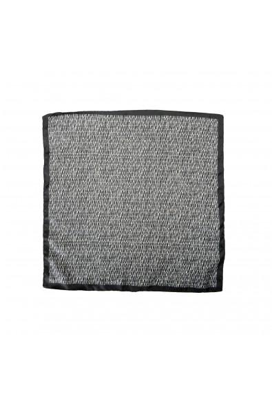 Hugo Boss Men's 100% Silk Graphic Print Pocket Square