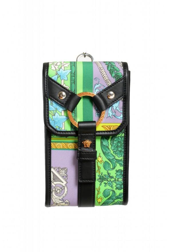 Versace Men's Leather Trimmed Multi-Color Mini Shoulder Bag: Picture 2