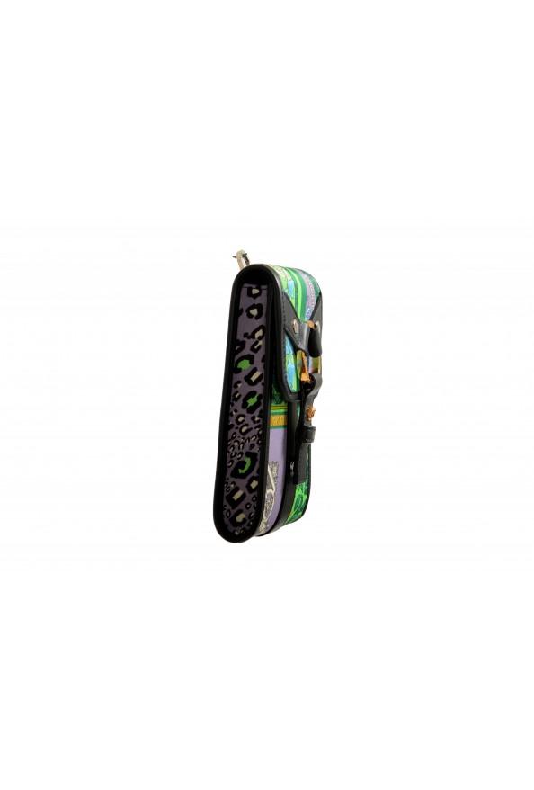 Versace Men's Leather Trimmed Multi-Color Mini Shoulder Bag: Picture 3