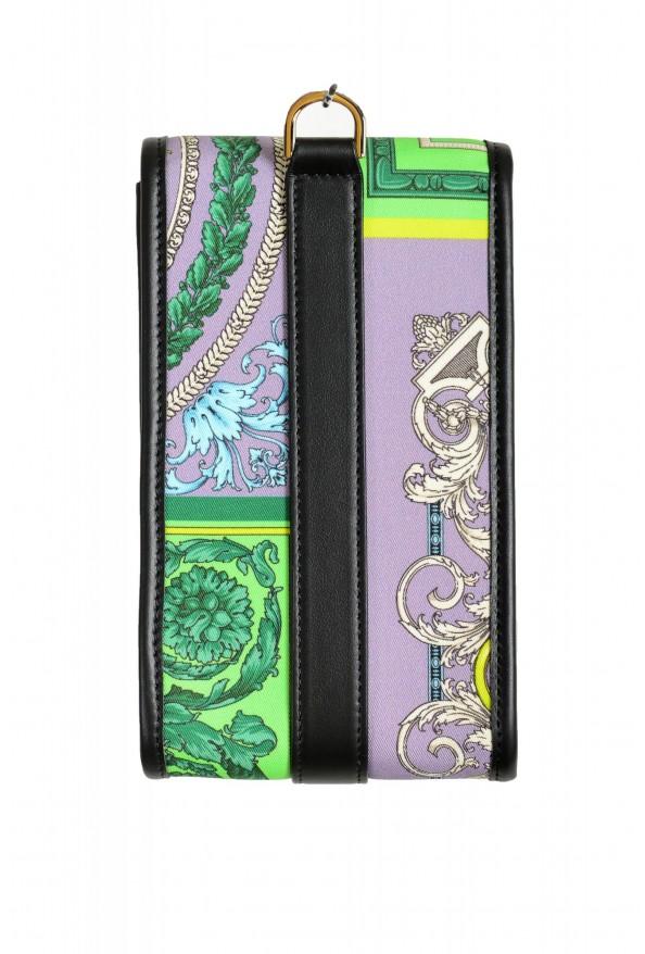 Versace Men's Leather Trimmed Multi-Color Mini Shoulder Bag: Picture 4