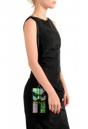 Versace Men's Leather Trimmed Multi-Color Mini Shoulder Bag: Picture 5