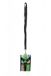 Versace Men's Leather Trimmed Multi-Color Mini Shoulder Bag
