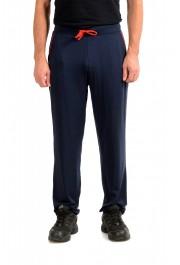 "Hugo Boss ""Refined Pants"" Blue Stretch Casual Pants"