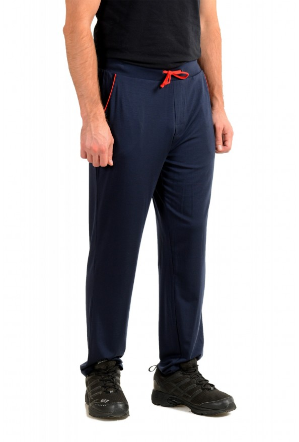 """Hugo Boss """"Refined Pants"""" Blue Stretch Casual Pants: Picture 2"""