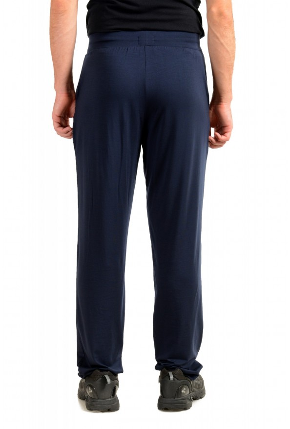 """Hugo Boss """"Refined Pants"""" Blue Stretch Casual Pants: Picture 3"""