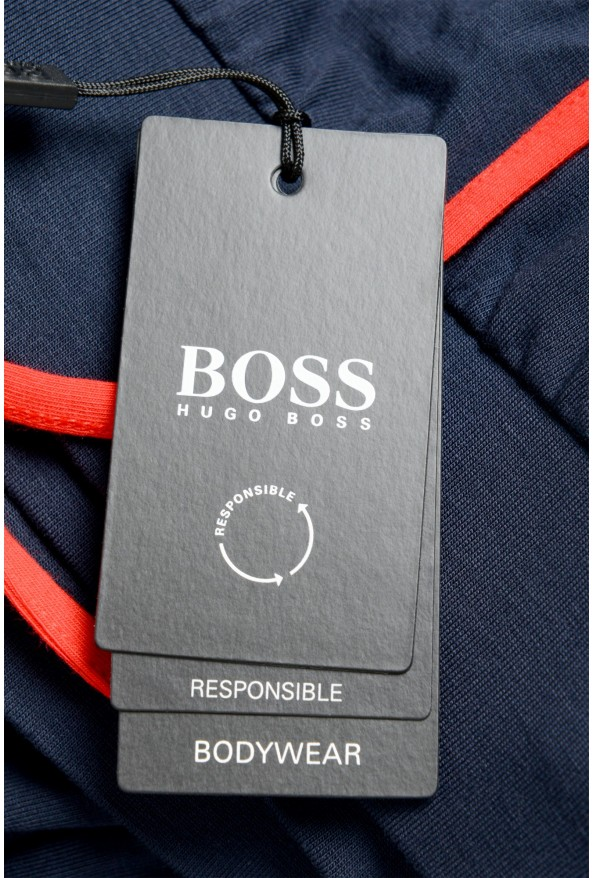 """Hugo Boss """"Refined Pants"""" Blue Stretch Casual Pants: Picture 4"""