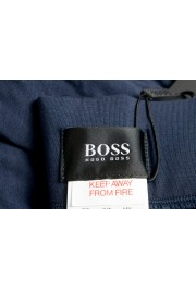 """Hugo Boss """"Refined Pants"""" Blue Stretch Casual Pants: Picture 5"""