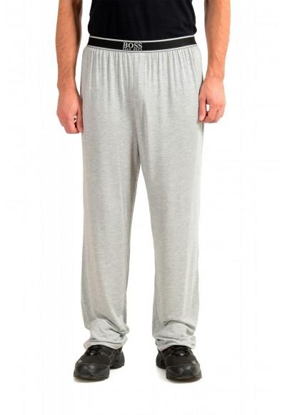 "Hugo Boss ""Comfort Pants"" Gray Stretch Casual Lounge Pants"