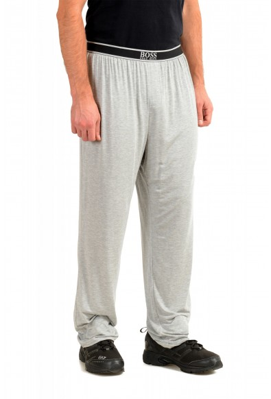 """Hugo Boss """"Comfort Pants"""" Gray Stretch Casual Lounge Pants: Picture 2"""