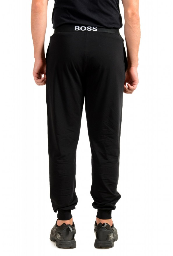 """Hugo Boss """"Identity Pants"""" Black Stretch Casual Lounge Pants: Picture 3"""