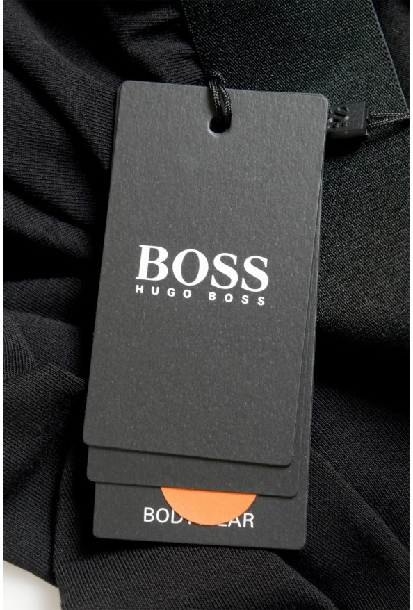 """Hugo Boss """"Identity Pants"""" Black Stretch Casual Lounge Pants: Picture 4"""
